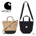 carhartt WIP カーハート ダブリューアイピー CANVAS SMALL TOTE I028886 キャンバススモールトート バッグ ブラック ブラウン かばん 正規取扱店