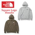 THE NORTH FACE ザ ノース フェイス Square Logo Hoodie NT12141 スクエアロゴフーディー スウェットパーカー メンズ 正規販売店