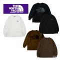 THE NORTH FACE PURPLE LABEL ザ ノースフェイスパープルレーベル 8oz L/S Logo Tee NT3072N ロゴTシャツ 長袖 正規取扱店