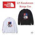 THE NORTH FACE ザ ノース フェイス L/S Karakoram Range Tee NT32131 ロングスリーブカラコラムレンジティー 長袖 Tシャツ メンズ 正規取扱店
