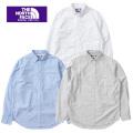 THE NORTH FACE  PURPLE  LABEL nanamica ザ ノースフェイスパープルレーベル Cotton Polyester OX Shirt NT3804N シャツ メンズ