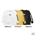 予約8月中旬~9月中旬入荷予定 メンズ レディース THE NORTH FACE PURPLE LABEL ザ ノースフェイスパープルレーベル 8oz L/S Logo Tee NT3955N 長袖 ロゴ Tシャツ 正規販売店