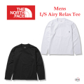 THE NORTH FACE ザ ノース フェイス L/S Airy Relax Tee NT62160 ロングスリーブエアリーリラックスティー メンズ 正規販売店