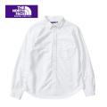 THE NORTH FACE  PURPLE  LABEL nanamica ザ ノースフェイスパープルレーベル Cotton Polyester OX Shirt NTW3804N シャツ レディース