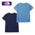 THE NORTH FACE PURPLE LABEL nanamica ザ ノースフェイスパープルレーベル 7oz H/S Pocket Long Tee NTW3817N 半袖ポケットTシャツ レディース