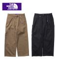 【レディース】THE NORTH FACE PURPLE LABEL nanamica ザ ノースフェイスパープルレーベル Stretch Twill Wide Pants NTW5851N ストレッチウインドパンツ