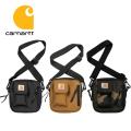 carhartt カーハート WIP ESSENTIALS BAG SMALL BLACK /Hamilton Brown/Camo Laurel T006285-20S エッセンシャルズバッグ かばん ショルダー 正規取扱店