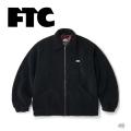 FTC エフティーシー SHERPA FLEECE HARRINGTON JACKET FTC021AWJ07 シェルパフリース ハリントン ジャケット 長袖 メンズ アウター 正規取扱店