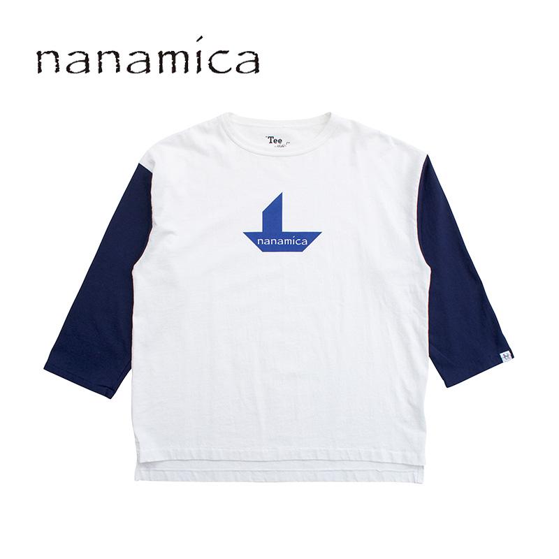 メンズ nanamica ナナミカ nanamican Baseball Tee SUHS980 ベースボールTシャツ 正規取扱店 送料無料