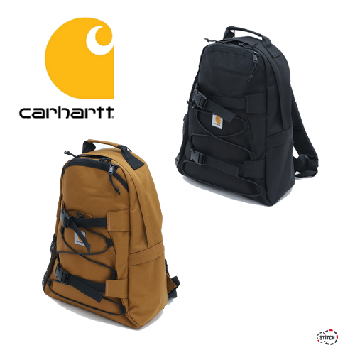carhartt カーハート WIP KICKFLIP BACKPACK BLACK  Hamilton Brown キックフリップ バックパック  T006288-20S リュック かばん 正規取扱店