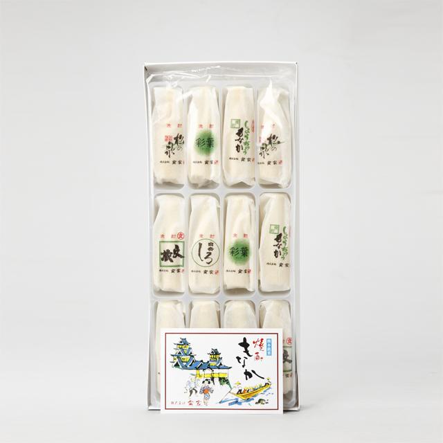 熊本銘菓 焼酎もなか(白あん) 12個