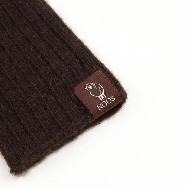 NOOS ヤク手袋 【編み模様】 モンゴル国産 天然ヤク 100% レディース