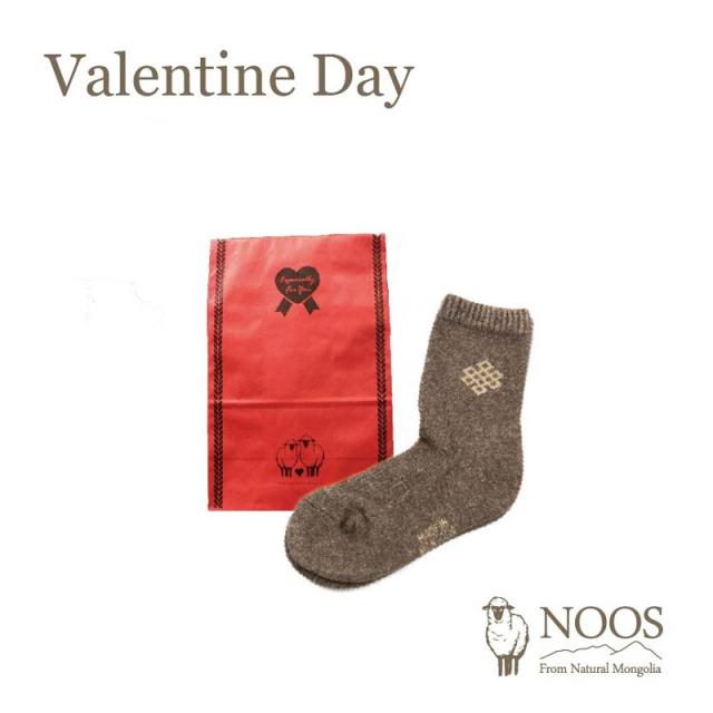 【NOOS】バレンタイン限定ギフトラッピングバッグ