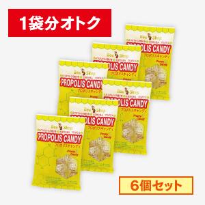 プロポリスキャンディ【6個入り】 [商品番号:1862]