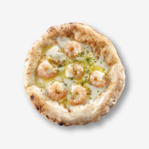 エビとガーリックソースのピザ(単品) [商品番号:4112]