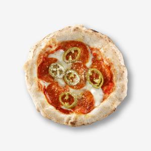 サラミと唐辛子のピザ(単品) [商品番号:4111]
