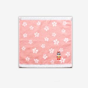 みっちぃタオルハンカチ【ピンク】 [商品番号:995]