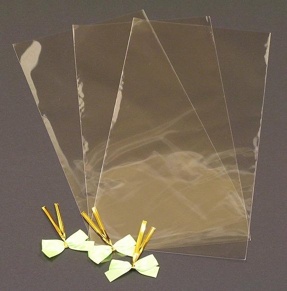 ドレッシングラッピング袋3枚組(リボン付き)