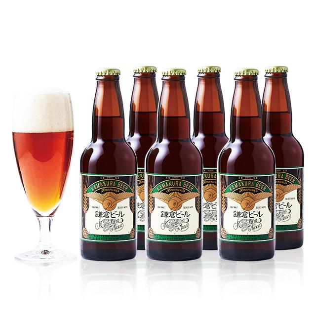 鎌倉ビール売り上げ第1位!鎌倉ビール月(アルト)6本セット
