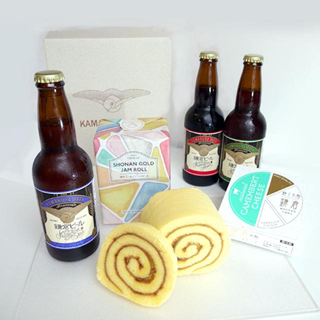 鎌倉ビールと湘南ゴールドジャムロール<鎌倉おうちグルメ>