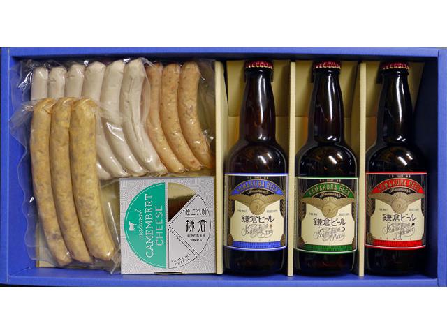 鎌倉ビールと手作りソーセージのセット
