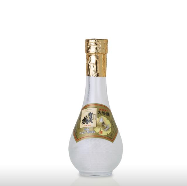 大吟醸 特製ゴールド賀茂鶴 180ml 丸瓶