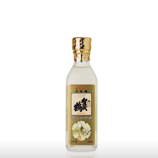 大吟醸 特製ゴールド賀茂鶴 180ml 角瓶