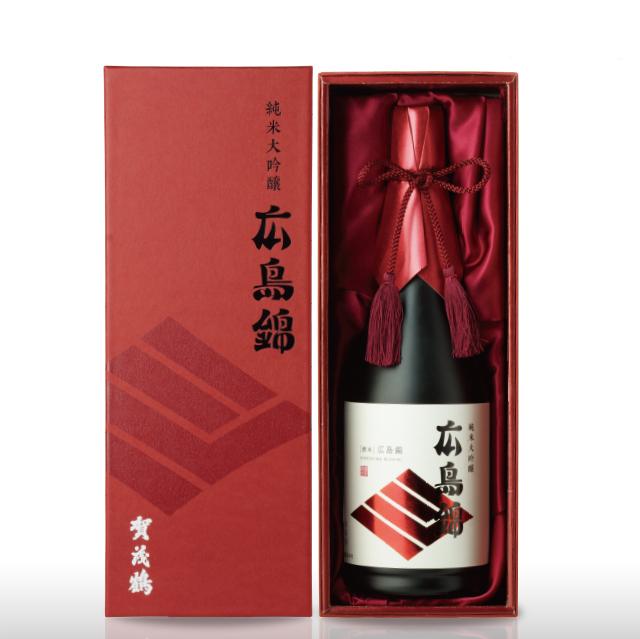 純米大吟醸 広島錦 720ml(HK-B1) 化粧箱入