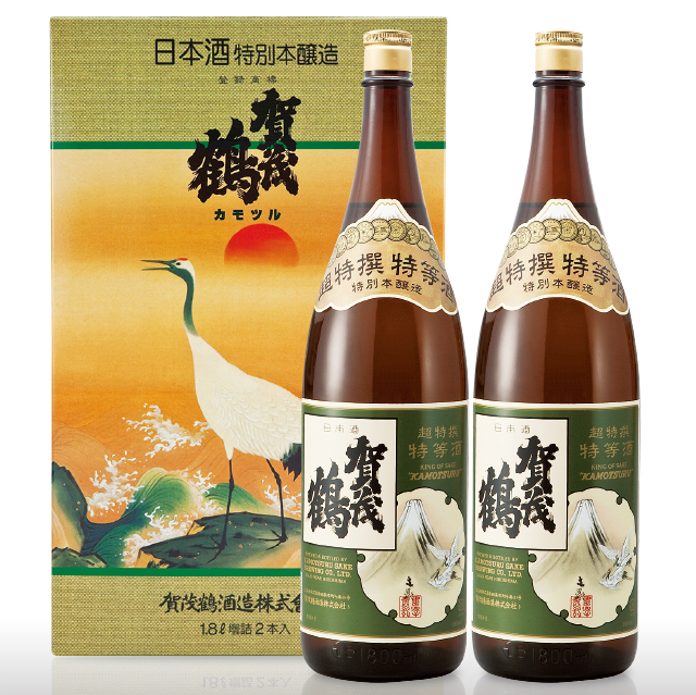 特別本醸造 超特撰特等酒1.8L (TK-2) 2本化粧箱入
