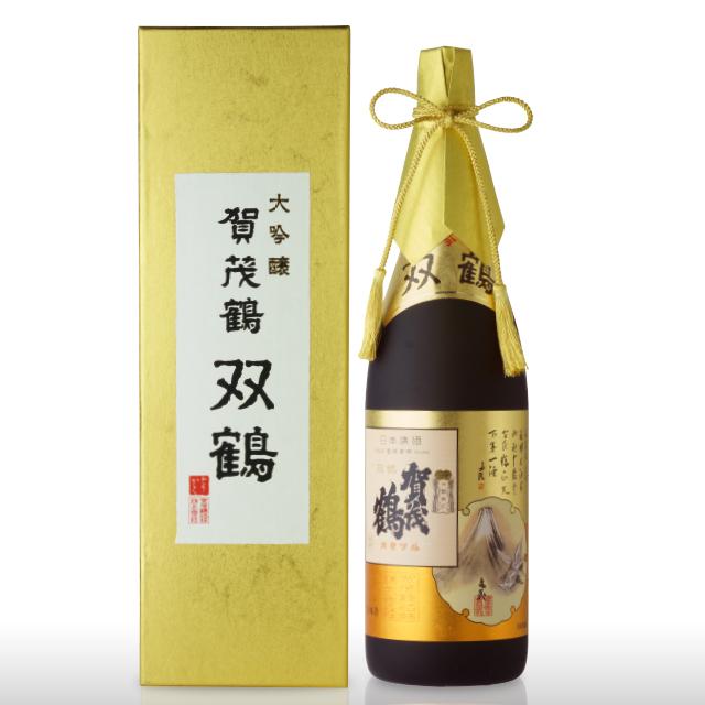 大吟醸 賀茂鶴 双鶴1.8L(SK-A1)化粧箱入