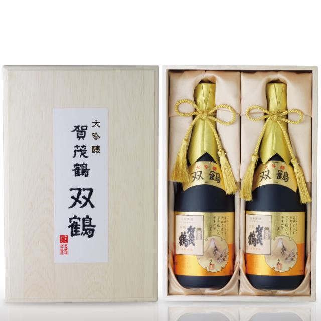 大吟醸 賀茂鶴 双鶴720ml(SK-B2)2本木箱入