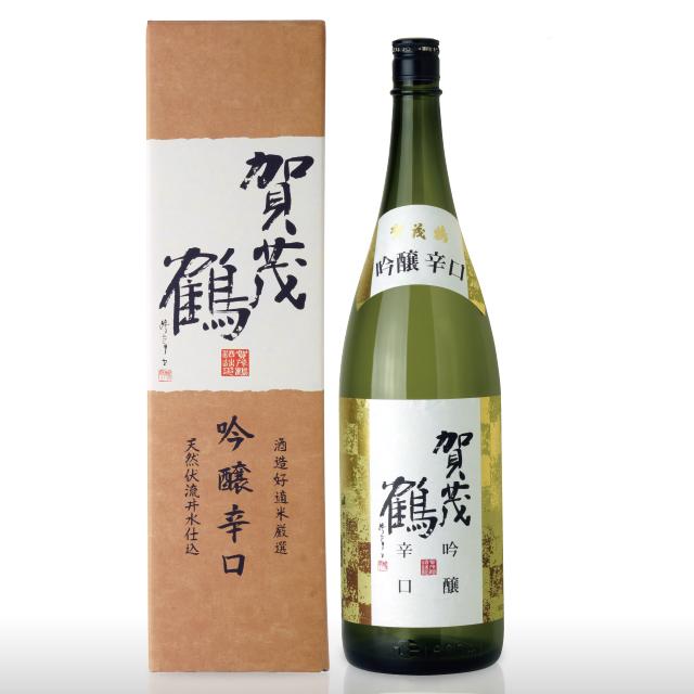 賀茂鶴 吟醸辛口1.8L (LG-A1) 化粧箱入