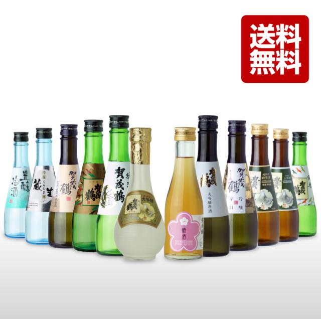 いろいろ飲み比べ小瓶(300mlと180ml) 12本詰合せ