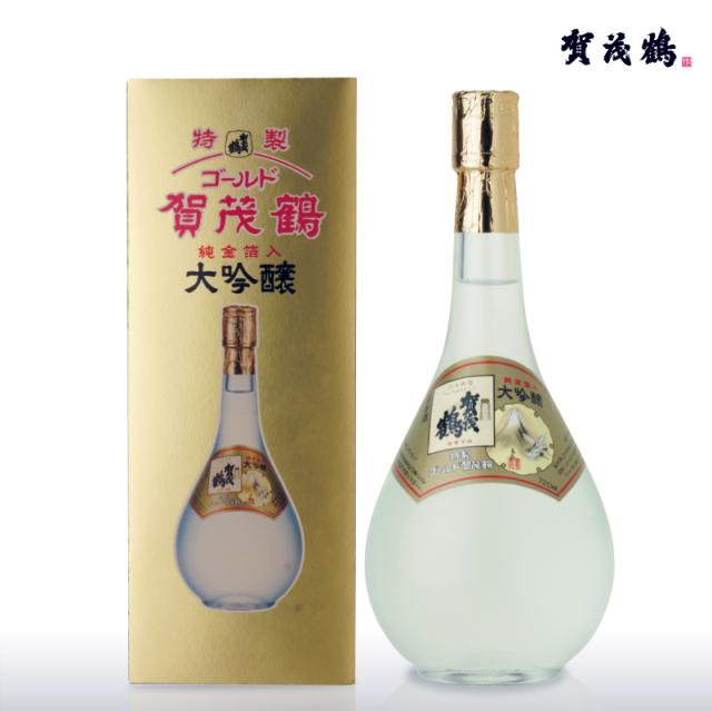大吟醸 特製ゴールド賀茂鶴720ml(GK-B1)化粧箱入