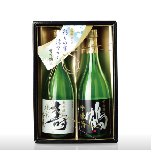 賀茂鶴 鶴寿セット 純米吟醸・吟醸 (SKJ-30)