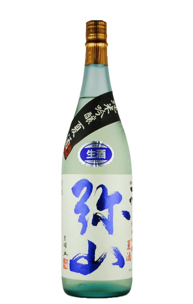 弥山 純米吟醸 夏酒 生(1800ml)