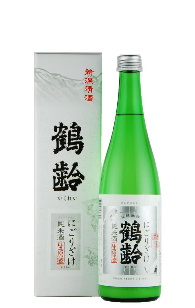 鶴齢 純米酒 にごりざけ(720ml)