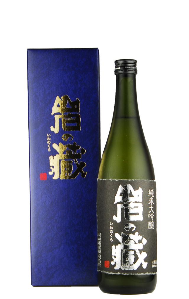 岩の蔵 純米大吟醸(720ml)箱入り