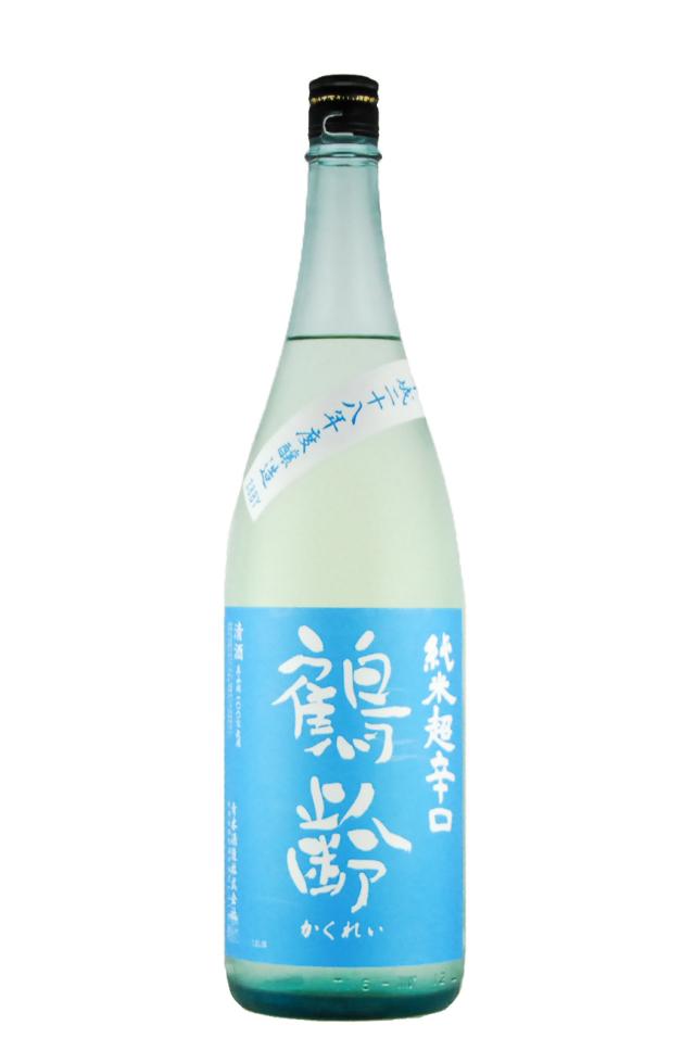 鶴齢 純米酒 超辛口(1800ml)