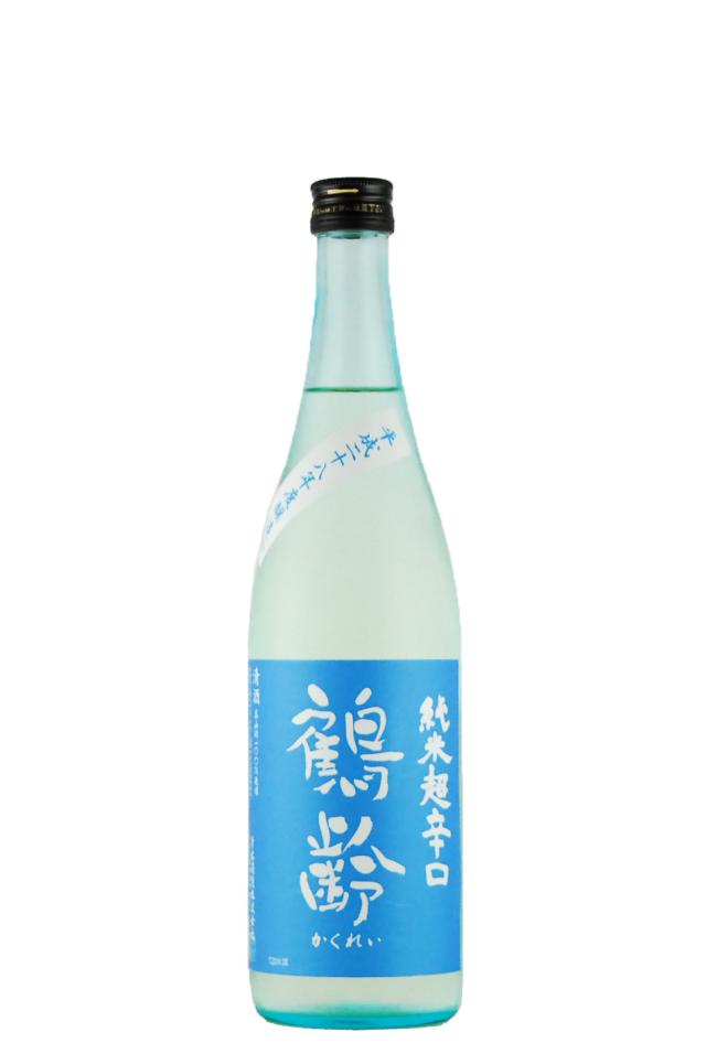 鶴齢 純米酒 超辛口(720ml)