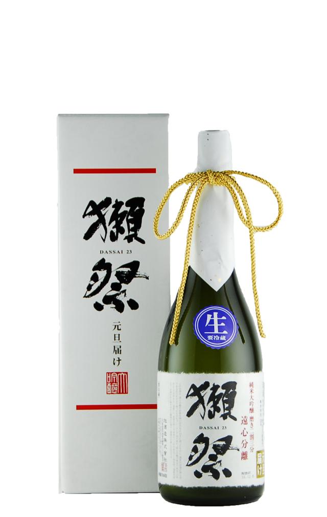 獺祭 純米大吟醸 磨き二割三分 遠心分離 おりがらみ(720ml)