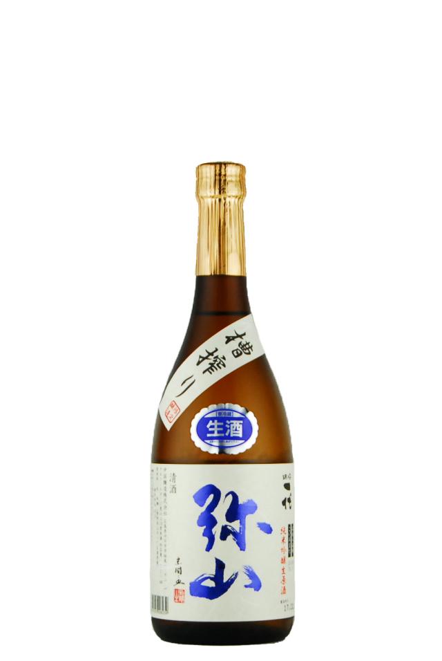弥山 純米吟醸 槽搾り生原酒(720ml)