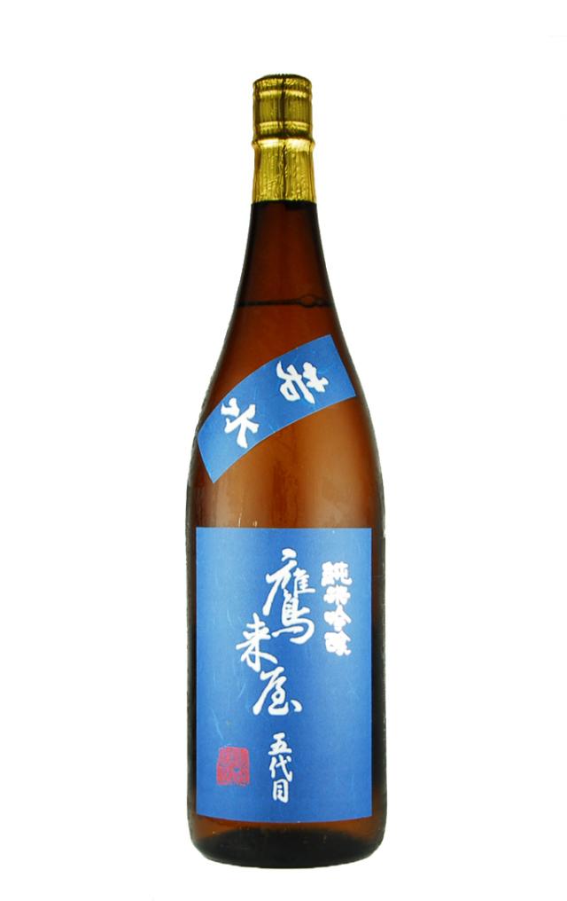 鷹来屋 純米吟醸酒 若水(1800ml)
