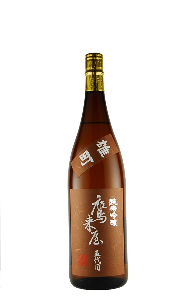 鷹来屋 純米吟醸酒 雄町(720ml)