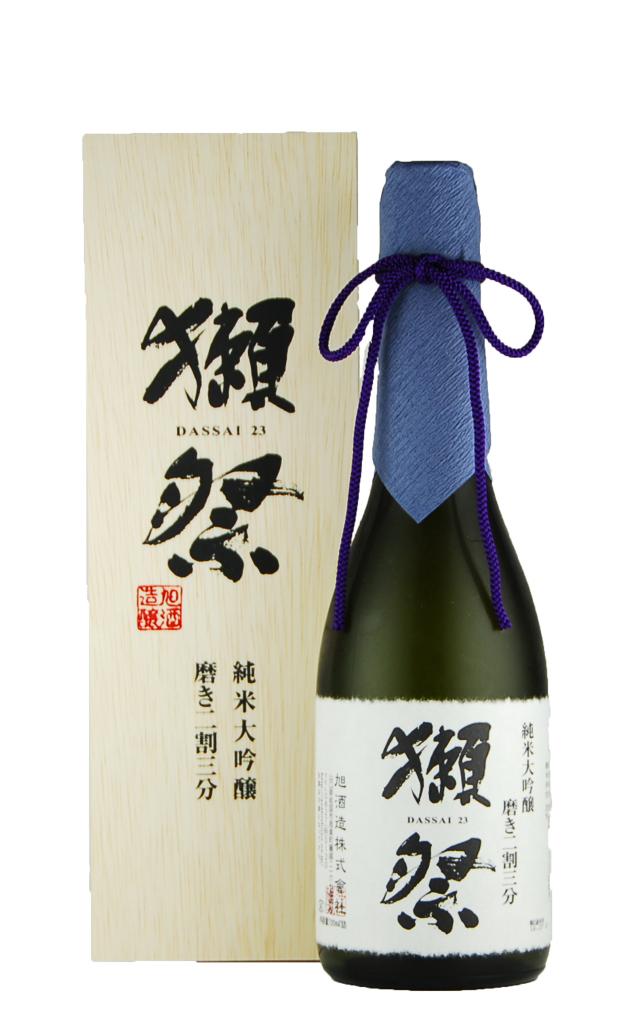 獺祭 純米大吟醸 磨き二割三分 木箱入り(720ml)