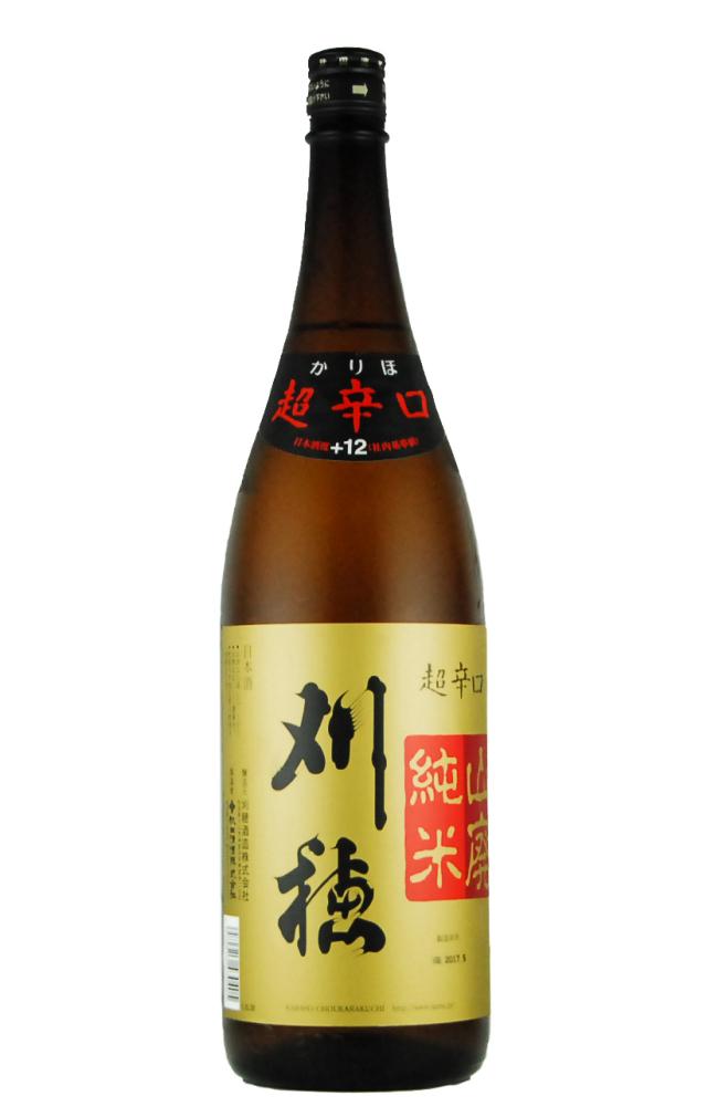 刈穂 山廃純米 超辛口(1800ml)