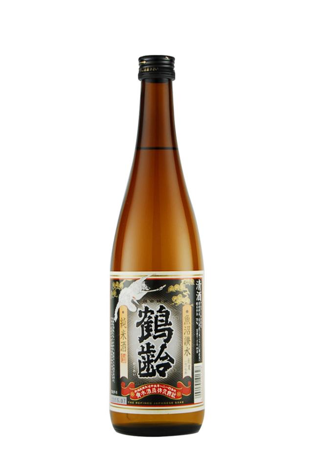 鶴齢 純米酒(720ml)