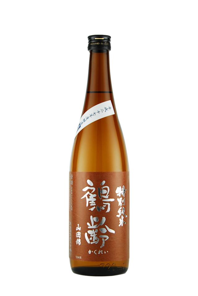 鶴齢 特別純米 山田錦 55% 無濾過生(720ml)
