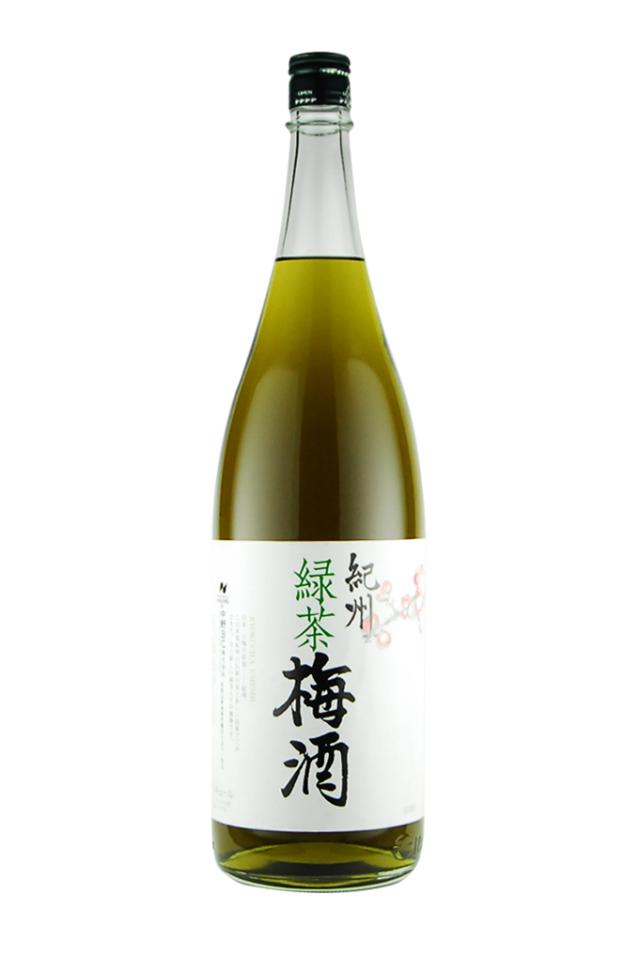 緑茶梅酒(1800ml)