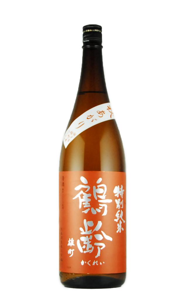 鶴齢 特別純米 雄町 秋あがり(1800ml)